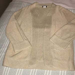 J Crew sweater cropped sweater/jacket
